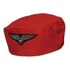 New Ladies Air Hostess Flight Attendant Stewardess Pilot Fancy Dress Costume Hat