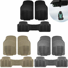 3pc Floor Mats for Auto Car SUV Van Heavy Duty 3 Colors w/ Free Gift