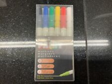 Uni paint markers 637206 pack oil based fine line