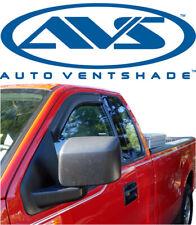 AVS 92301 Tape-On Window Ventvisors Smoke 2Pc 2014-2018 Chevy Silverado Std. Cab