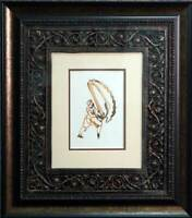 "Max ERNST Lithograph ORIGINAL Limited Ed. ""Nachwort""  on Arches w/Archival Frame"