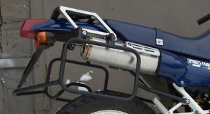 Honda NX 250 Dominator SET Side carrier luggage rack soft bag + Crash Bars Mmoto