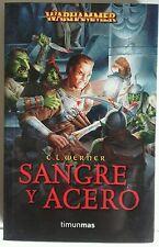 Sangre y Acero. Warhammer. Libro