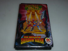DOUBLE DRAGON THE SHIELD OF SHADOW OF KHAN VHS TAPE CASSETTE DIC TOON TIME VIDEO