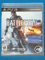 BATTLEFIELD 4 PS3 PLAYSTATION 3 MANUAL COMPLETE FREE SHIPPING