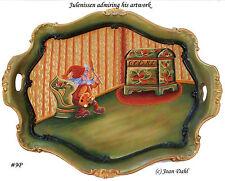 Julenisse Artist Rosemaling Pattern Package, FREE SHIPPING. Stock #9P