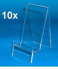 10x Porte téléphone portable, support smartphone - présentoir en acrylique