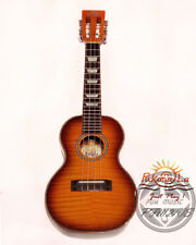 PukanaLa CF-Series PFM2-VS Flame Maple & Mahogany Concert ukulele semi Gloss
