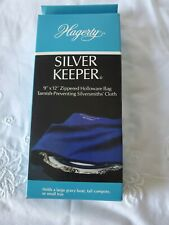 Hagerty 19400 9-by-12-inch Zippered Holloware Bag, Blue Nib
