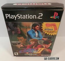 TIME CRISIS II + GunCon 2 (Sony PlayStation 2 2001) COMPLETE Big Box PS2 Shooter