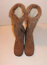 Yodelers Suede Boot with Plush Lining - Size 7 vintage retro warm