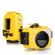 Seafrogs 60m/195ft Waterproof Diving Underwater Camera Housing for Olympus TG-5