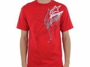 New AlpineStars Carnivore Tee Size Large Red Short Sleeve T-Shirt
