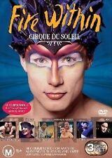 Cirque Du Soleil Presents Fire Within DVD 3 Disc DVD Set