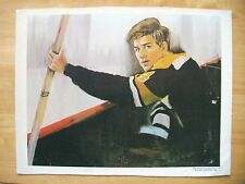 """1970 Bobby Orr Boston Bruins Print on Canvas Professional Productions 12x16""""*"""