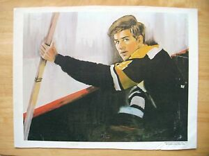 "1970 Bobby Orr Boston Bruins Print on Canvas Professional Productions 12x16""*"