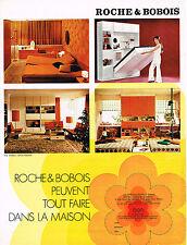 PUBLICITE   1970   ROCHE & BOBOIS   meubles