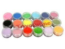 18 colores de uñas Arte Escultura Set Espeleología polvo de acrílico