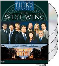 The West Wing - The Complete Third Season (DVD, 2004, 4-Disc Set) NEW