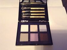 Bobbi Brown EYE WARDROBE Eye Shadow Palette 6 Color with BRUSHES - NEW