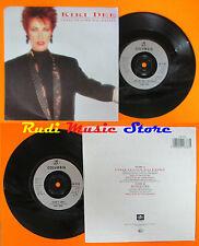 LP 45 7''KIKI DEE I fall in love too easily Don't cry 1987 uk COLUMBIA cd mc dvd