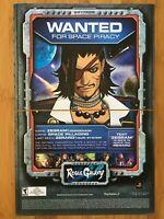 Rogue Galaxy PS2 Playstation 2 2007 Vintage Poster Ad Art Promo Print RPG Rare