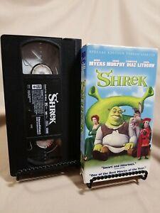 Shrek Special Edition VHS Tape