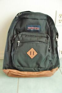 "New Genuine JanSport Big Student BP City View Black JS0A3P3U008 -15"" Laptop"