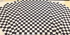 1/18 DIORAMA nera e bianca garage / officina Flooring (5 fogli A4)