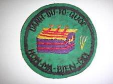 ARVN Special Forces TECHNICAL DIRECTORATE Vietnam War Hand Sewn Patch