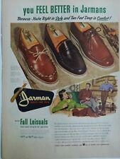 1959 Jarman Fall Leisuals mens shoes you feel better vintage  ad