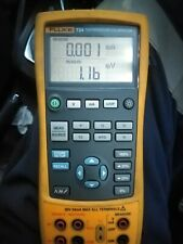Fluke 724 Temperature Calibrator Meter With Leads