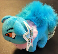 Neopets 3 inch BLUE Wocky mcdonalds plush toy kids meal 2004 WITH TAGS