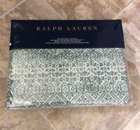 NEW Ralph Lauren Notting Hill Eaton Green KING EXTRA DEEP FITTED SHEET NIP $145