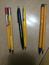 Lot of 6 Vintage Eastman Kodak Company includes 4 pens and 2 mechanical pencils