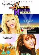 Hannah Montana The Movie Miley Cyrus, Billy Ray Cyrus, Emily Osment NEW R2 DVD