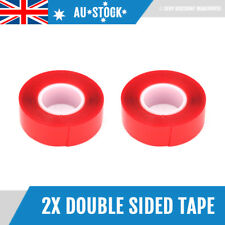 2x 3m Auto Truck Car Acrylic High Strength Double Sided Attachment Tape Roll NEW