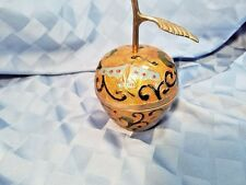 Cloisonne Brass Apple with Enameled decorations For the Master Teacher, India