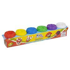 6 pc Play Pâte Doh pots 50 G KIDS couleurs Jouets formes modélisation Cadeau De Noël Boîtes