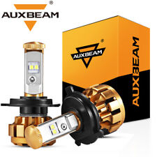 AUXBEAM F-16 SERIES H4 9003 HB2 CREE LED Headlight Hi-Lo 50W 5000LM White 6000K