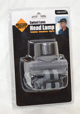 Western Safety Swivel Lens Head Lamp Batteries Included BLack & Gray NEW