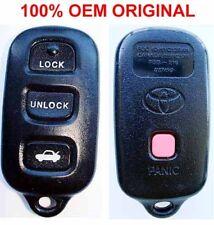 Toyota LOGO OEM 4 CAR TRUNK BUTTON HIGHLANDER PRIUS RAV4 KEYLESS REMOTE HYQ12BAN