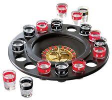 Nouveau Drinking Roulette Set Avec Bille Fun Fête Adultes Lunettes Spin roue Shot jeu