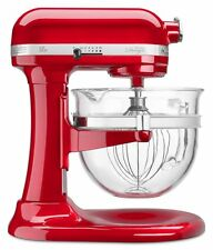 KitchenAid KF26M2XER 6-Qt. Professional 600 Design Glass Bowl Red