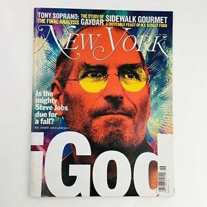 New Yorker Magazine June 25 2007 Mighty iGod Steve Jobs by John Heilemann