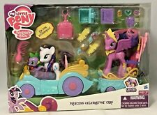 My Little Pony Princess Celebration Cars Set w/ Twilight Sparkle, Spike, Rarity