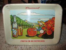 """Vintage WD Donald Duck Fruta En Su Refresco """"Fruit In Your Drink"""" Pascual Tin!!"""