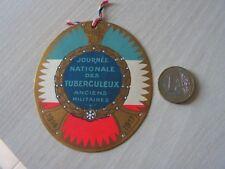Insignes de jounée -  poilu  14   18     journee  tuberculeux  carte identite
