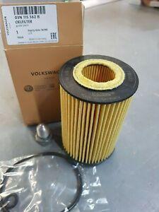 Genuine Volkswagen Audi Seat Skoda Diesel Oil Filter and sump plug 03N115562B