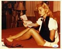 Irish McCalla JSA Coa Signed 8x10 Photo Autograph